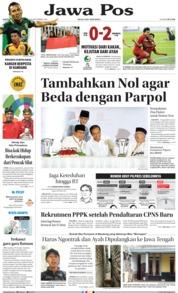 Cover Jawa Pos 22 September 2018