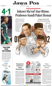 Cover Jawa Pos 23 September 2018