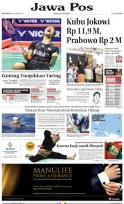 Cover Jawa Pos 24 September 2018