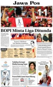 Cover Jawa Pos 25 September 2018