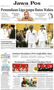 Cover Jawa Pos 26 September 2018