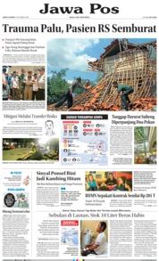 Cover Jawa Pos 12 Oktober 2018