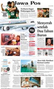 Cover Jawa Pos 13 Oktober 2018