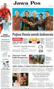 Cover Jawa Pos 15 Oktober 2018