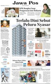Cover Jawa Pos 16 Oktober 2018