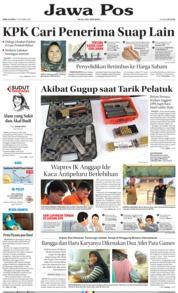 Cover Jawa Pos 17 Oktober 2018