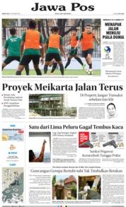 Cover Jawa Pos 18 Oktober 2018
