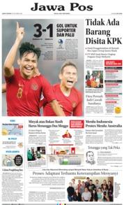 Cover Jawa Pos 19 Oktober 2018