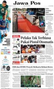 Cover Jawa Pos 20 Oktober 2018