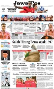Cover Jawa Pos 23 Oktober 2018