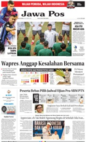 Cover Jawa Pos 24 Oktober 2018