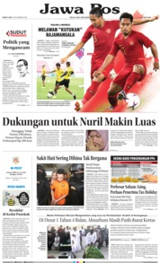 Cover Jawa Pos 17 November 2018