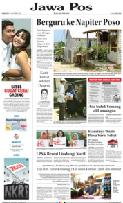Cover Jawa Pos 22 November 2018