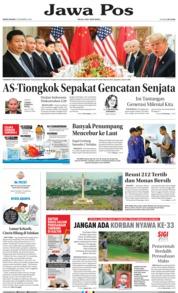 Cover Jawa Pos 03 Desember 2018