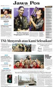 Cover Jawa Pos 10 Desember 2018