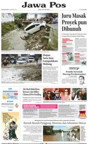 Cover Jawa Pos 11 Desember 2018