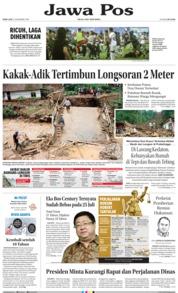 Cover Jawa Pos 12 Desember 2018