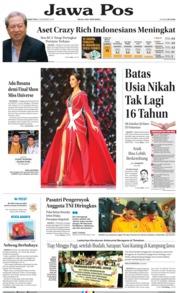Cover Jawa Pos 14 Desember 2018