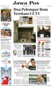 Cover Jawa Pos 10 Januari 2019