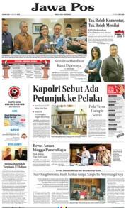 Cover Jawa Pos 11 Januari 2019