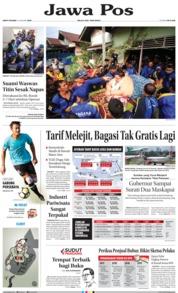 Cover Jawa Pos 12 Januari 2019