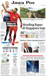 Cover Jawa Pos 13 Januari 2019