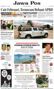 Cover Jawa Pos 15 Januari 2019
