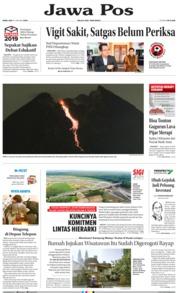 Cover Jawa Pos 16 Januari 2019