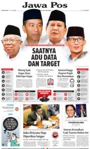 Cover Jawa Pos 17 Januari 2019