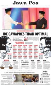 Cover Jawa Pos 18 Januari 2019