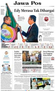 Cover Jawa Pos 21 Januari 2019