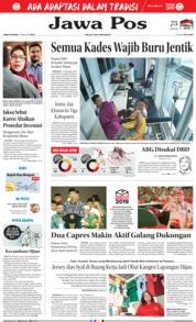 Cover Jawa Pos 01 Februari 2019