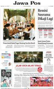 Cover Jawa Pos 02 Februari 2019