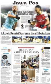 Cover Jawa Pos 03 Februari 2019