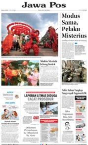 Cover Jawa Pos 04 Februari 2019