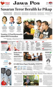 Cover Jawa Pos 05 Februari 2019
