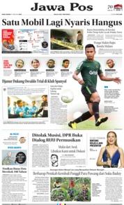 Cover Jawa Pos 06 Februari 2019