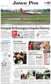 Cover Jawa Pos 08 Februari 2019