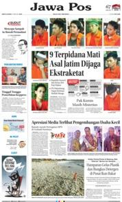 Jawa Pos Cover 09 February 2019