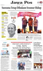 Jawa Pos Cover 10 February 2019