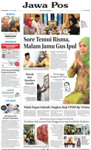 Cover Jawa Pos 11 Februari 2019