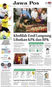 Cover Jawa Pos 13 Februari 2019