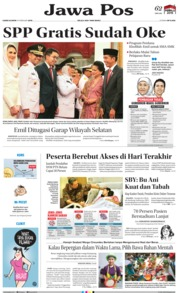 Cover Jawa Pos 14 Februari 2019