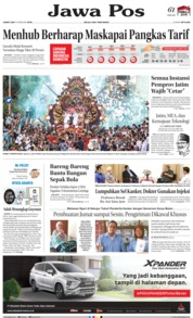 Jawa Pos Cover 15 February 2019