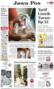 Jawa Pos Cover 16 February 2019