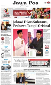 Jawa Pos Cover 17 February 2019