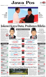 Jawa Pos Cover 18 February 2019
