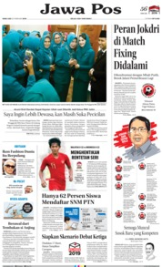 Jawa Pos Cover 20 February 2019