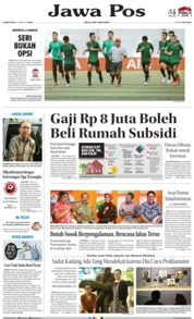 Jawa Pos Cover 22 February 2019