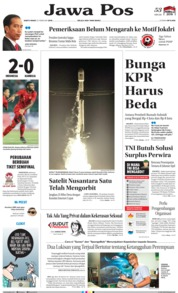 Jawa Pos Cover 23 February 2019